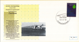 Nederland – FDC - Eerste Stempeldag Filatelieloket - Zierikzee - 16 Juli 1987 – Nummer 41 - Bruggen
