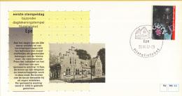 Nederland – FDC - Eerste Stempeldag Filatelieloket - Epe - 20 Juli 1987 – Nummer 42 - Postal History