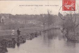 23568 SAINT LEGER EN YVELINES -- Vallée De La Vègre - Sans Editeur -pecheur