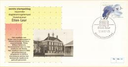 Nederland – FDC - Eerste Stempeldag Filatelieloket - Etten-Leur - 12 Augustus 1987 – Nummer 44 - Postal History