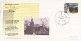 Nederland – FDC - Eerste Stempeldag Filatelieloket - Roden - 29 Oktober 1987 – Nummer 58 - Poststempel