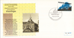 Nederland – FDC - Eerste Stempeldag Filatelieloket - Vlaardingen - 16 November 1987 – Nummer 62 - Poststempels/ Marcofilie