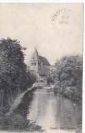 23570 LIGNY-le-CHATEL - VUE SUR LA RIVIERE ET L´EGLISE - ND 18 - - Ligny Le Chatel