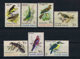 Norfolk Island 116/122 ** Oiseaux/Birds Mnh
