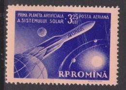 Roumanie N° PA 89 *** Première Planète Artificielle Du Soleil - Solnik - 1959 - Poste Aérienne
