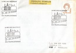 Nederland Gelegenheidsstempels – 14 Mei 1995 – Maastricht - 82e Filatelistendag - Poststempels/ Marcofilie