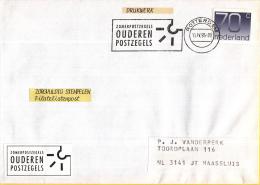 Nederland Vlagstempels – 11 April 1995 – Rotterdam - Zomerpostzegels Ouderen Postzegels - Postal History