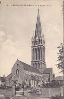 23575 Langrune Sur Mer , L Eglise LL 29 - Publicite Galette Saint Michel