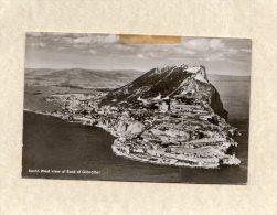47130   Gibilterra,  South West View Of Rock Of  Gibraltar,  VGSB  1961 - Gibilterra