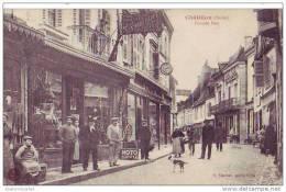 CHATILLON - 36 - Grande Rue (gros Plan Animé) - France