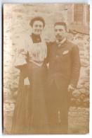 CHROMO, PHOTOGRAPHIE COUPLE - Vieux Papiers