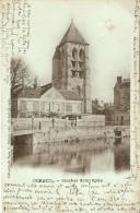 CORBEIL (91) : Clocher De L´Eglise Saint-Spire. CPA Précurseurs 1901. - Corbeil Essonnes