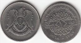 SIRIA 1 POUND 1968 ( Syrian Arabic Republic) - KM#98 - Used - Syria