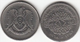 SIRIA 1 POUND 1968 ( Syrian Arabic Republic) - KM#98 - Used - Siria