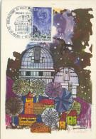 France - Carte Maximum Card 1970 Space Espace Observatoire - Cartoline Maximum