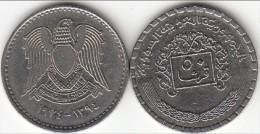 SIRIA 50 PIASTRES 1974 ( Syrian Arabic Republic) - KM#108 - Used - Siria