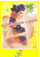 PROMOCARD N°  1358  SUN TEA LIPTON - Pubblicitari