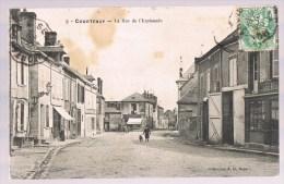 COURTENAY , La Rue De L'Esplanade . - Courtenay