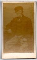 CHROMO,  PHOTOGRAPHIE HOMME - Vieux Papiers