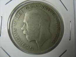 UK GREAT BRITAIN  HALF CROWN 1920 SILVER   LOT  9 - K. 1/2 Crown
