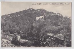 Isola Di CAPRI - Semaforo Visto Dalla Strada All'Arco Naturale - Napoli (Nepel)