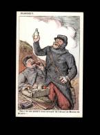 ILLUSTRATEURS - LEANDRE - Guerre 14-18 - Pub Menthe Ricqlès - Alcool De Menthe - Illustrateurs & Photographes