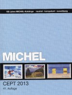 Briefmarken Katalog CEPT 2013 Neu 52€ Mit Jahrgangstabelle Von MlCHEL Europa Vorläufer NATO EFTA KSZE Symphatie-Ausgaben - Material Und Zubehör