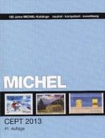 MlCHEL Stamps Catalogue CEPT 2013 New 52€ With Jahrgangs-Tabelle Von Europa Vorläufer NATO EFTA KSZE Symphatie-Ausgaben - Collections