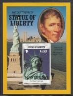 Montserrat MNH Scott #637 $4.50 Andrew Jackson, Statue Of Liberty - Centenary - Montserrat