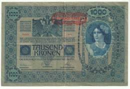 Austria Deutschosterreich 1000 Kronen Type 2 - Austria