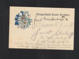 PK Sängerschaft Erato Dresden 1925 Studentika - Schools