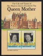 Montserrat MNH Scott #562 Souvenir Sheet Of 2 $2 Queen Mother - 85th Birthday - Montserrat