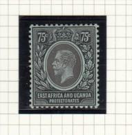 King George V - 1912 - Kenya, Uganda & Tanganyika