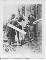 Picardie?france Toilette Des Américains 1 Photo Américaine  1914-1918 14-18 Ww1 WwI Wk Poilus - War, Military