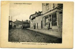 51 - Sainte Menehould - La Rue Des Prés  N° 489 - Sainte-Menehould