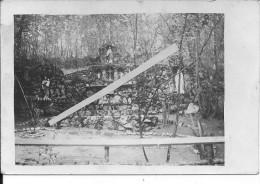 Flirey Bois Le Prêtre Chapelle 1carte Photo 1914-1918 14-18 Ww1 WwI Wk Poilus - War, Military
