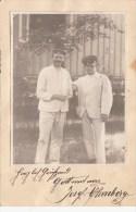 Photocarte Allemande- Militaires Soldats Allemands Pose Photo ESSEN 1915(guerre14-18) (2scans)lire+bas - Weltkrieg 1914-18
