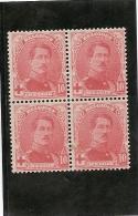 BELGIQUE   Bloc De 4 Croix Rouge 1914 *  (ref1328 ) - Belgique