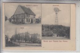 4798 BAD WÜNNENBERG - HAAREN, Gasthaus Lötfering, Wasserwerk, Kirche, 1908 - Bad Wünnenberg