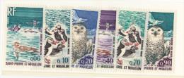 Saint-Pierre-et-Miquelon N° 425 à 430** - St.Pierre & Miquelon