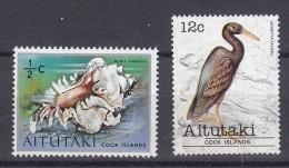 AITUTAKI - Lot De 2 TP Différents  - Tous N** - Aitutaki