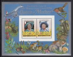 Montserrat MNH Scott #563 Souvenir Sheet Of 2 $3.50 Queen Mother - 85th Birthday - Montserrat