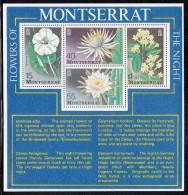 Montserrat MNH Scott #369a Souvenir Sheet Of 4 Different Flowers Of The Night - Montserrat