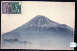 Japon -   Mont  Fuji  CP Envoyée Du Tonkin   1906 - Non Classés