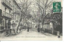 305 - LAMALOU-LES-BAINS - AVENUE DE LA GARE ( Animées ) - Lamalou Les Bains