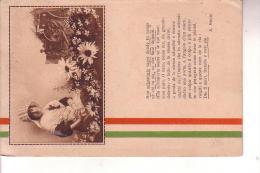 Guerra 15/18 Cartolina In Franchigia 7 7 1916 -- Poesia Di Ada Negri - Weltkrieg 1914-18