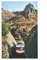Locomotive Sncf Autorail Panoramique Ligne Brioude Langogne Train - Eisenbahnen