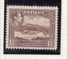 King George VI - 1938 - Antigua & Barbuda (...-1981)