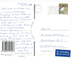 Hongkong TGST 2009 Vogel Red-Whiskered Bulbul Luftpost - 1997-... Sonderverwaltungszone Der China