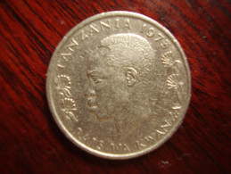 TANZANIA 1973 FIFTY CENTS  NYERERE Copper-Nickel  USED COIN. - Tanzania